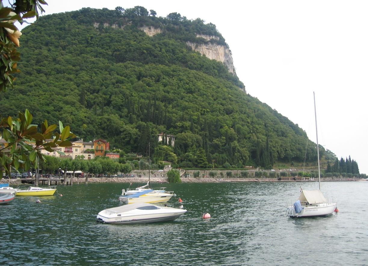 Berg La Rocca in Garda