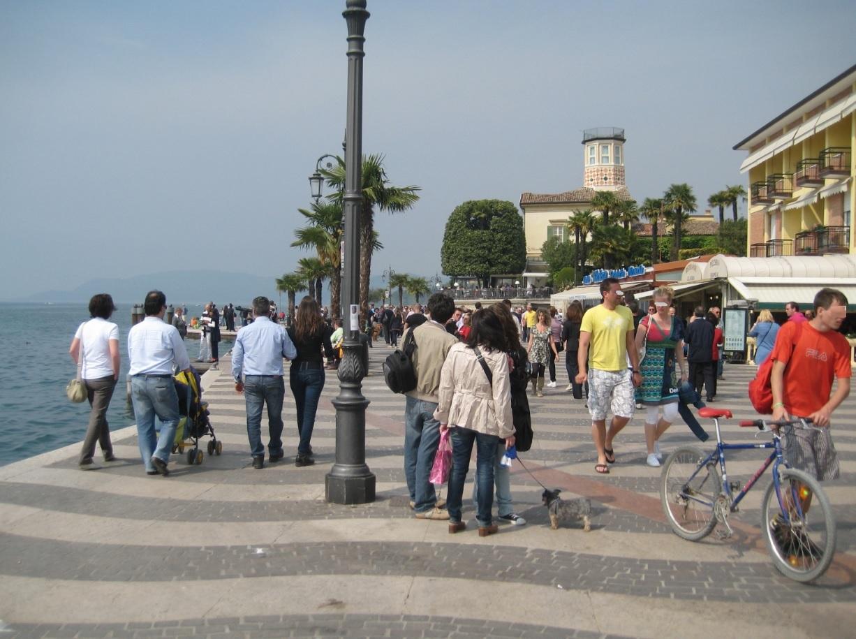Promenade in Lazise