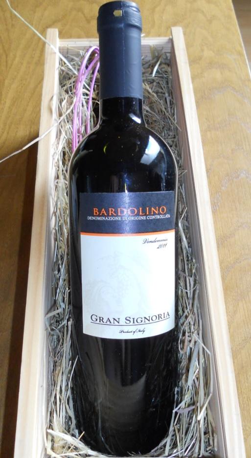 Bardolino Rotwein vom Gardasee
