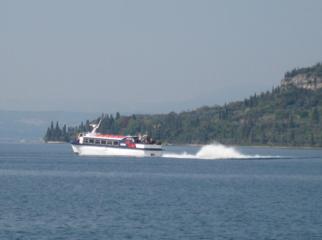 Fähre am Gardasee