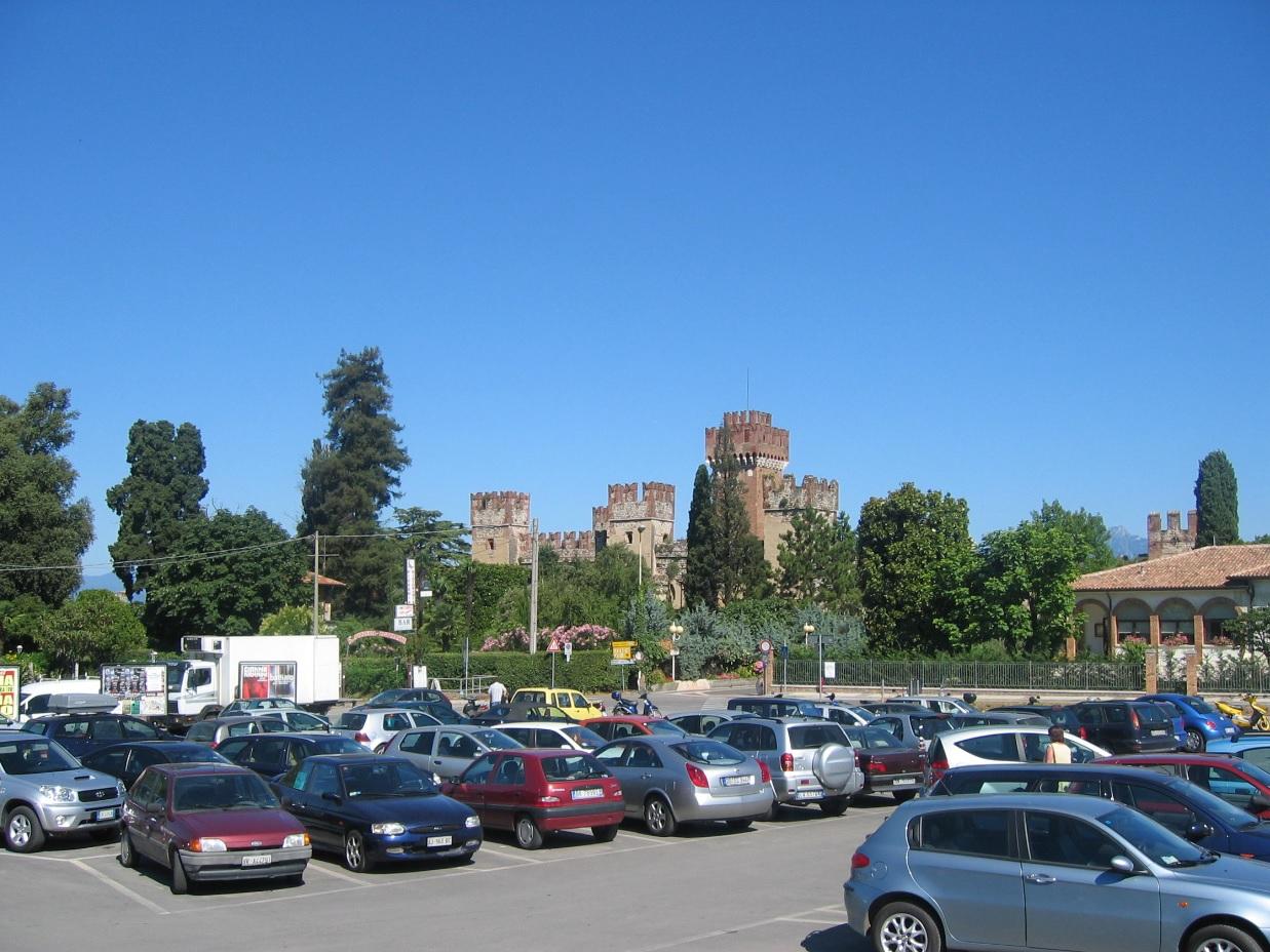 Straßenverkehr am Lago di Garda