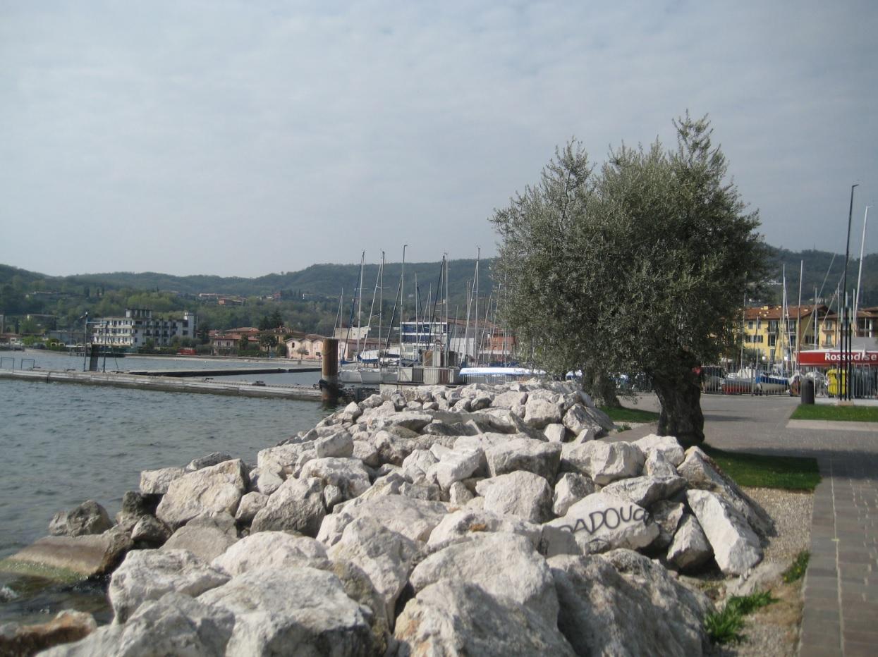 Blick von Salo nach San Felice