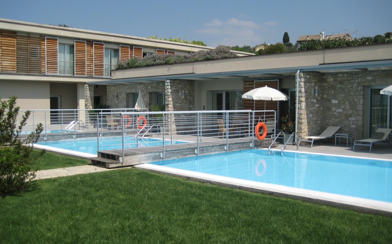 Ferienwohnung mit Pool am Gardasee