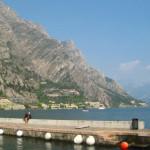 Hafen in Limone sul Garda