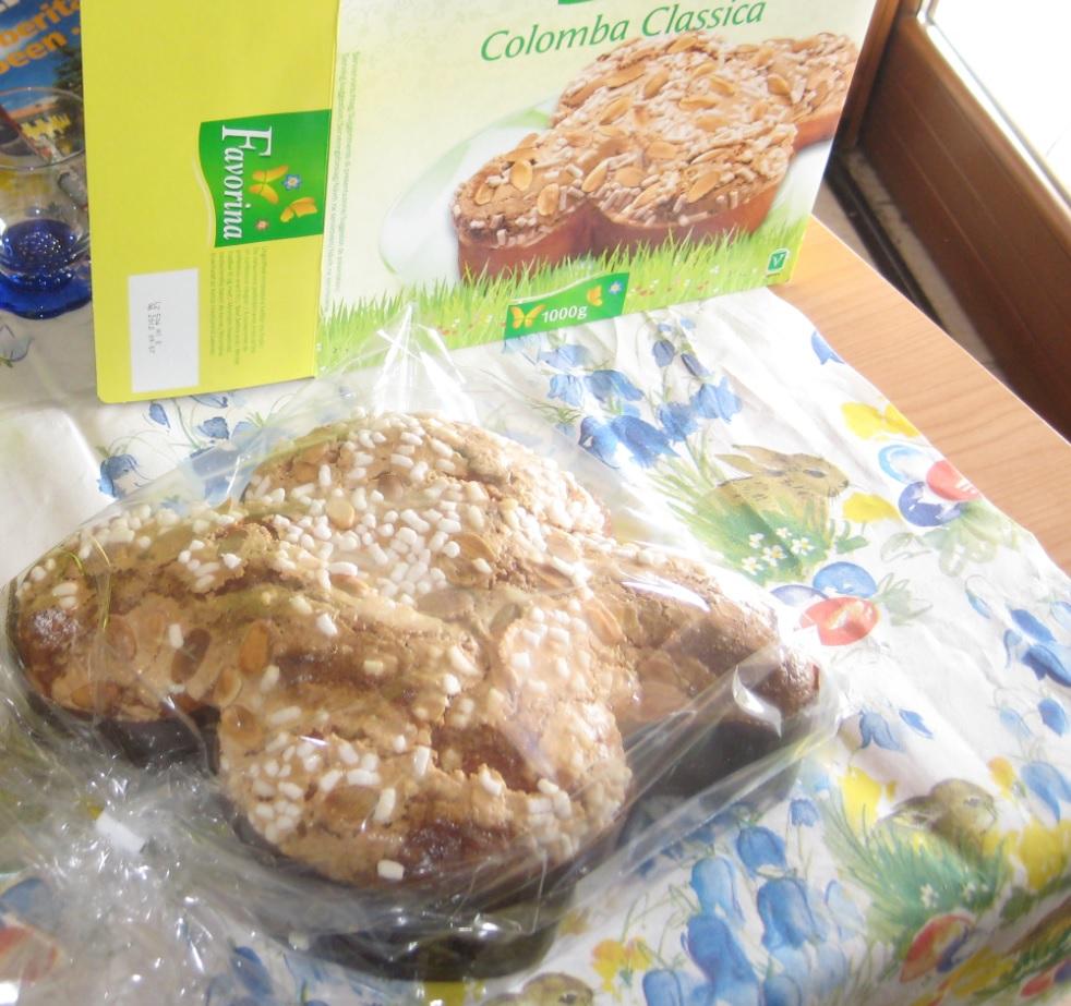 Italienischer Colomba Kuchen