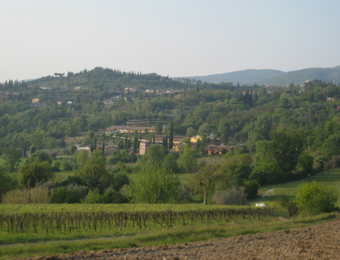 Ferienwohnungen oberhalb von Garda