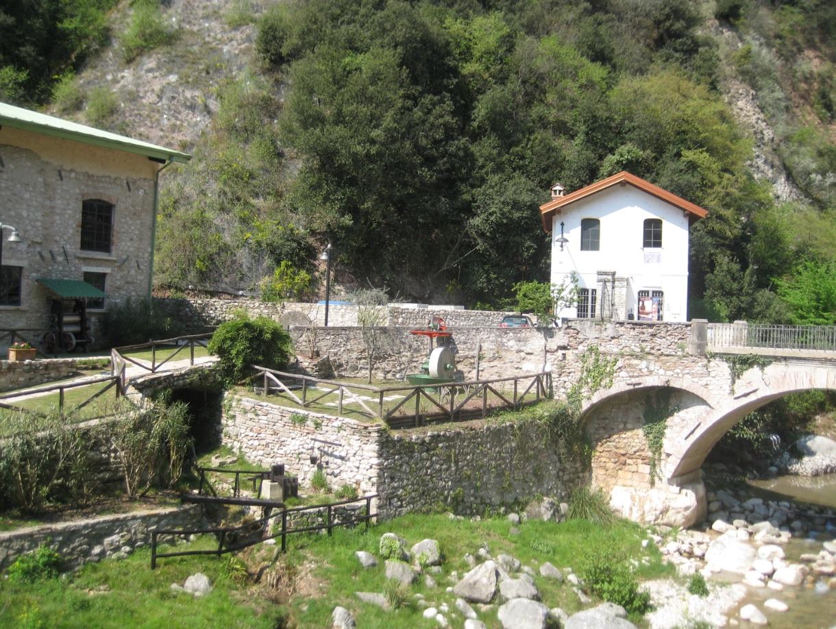 Tal der Papiermühlen in Toscolano-Maderno