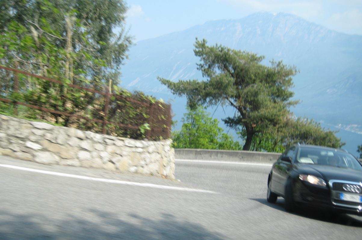 Bergstraßen am Gardasee
