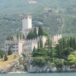 Burg und Seilbahn in Malcesine