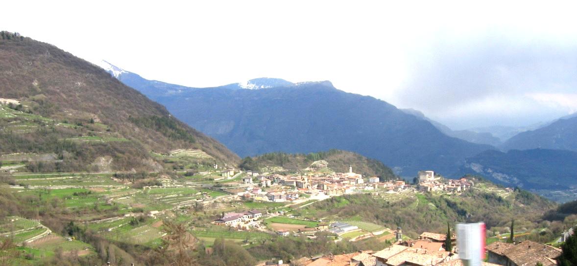 Dörfer oberhalb von Riva del Garda