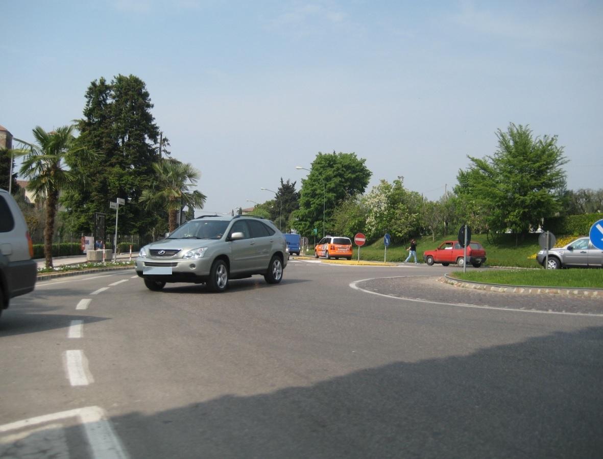 Kreisverkehr am Gardasee