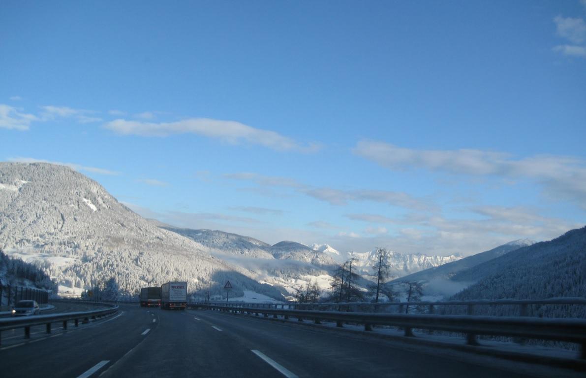 Winter auf dem Brenner