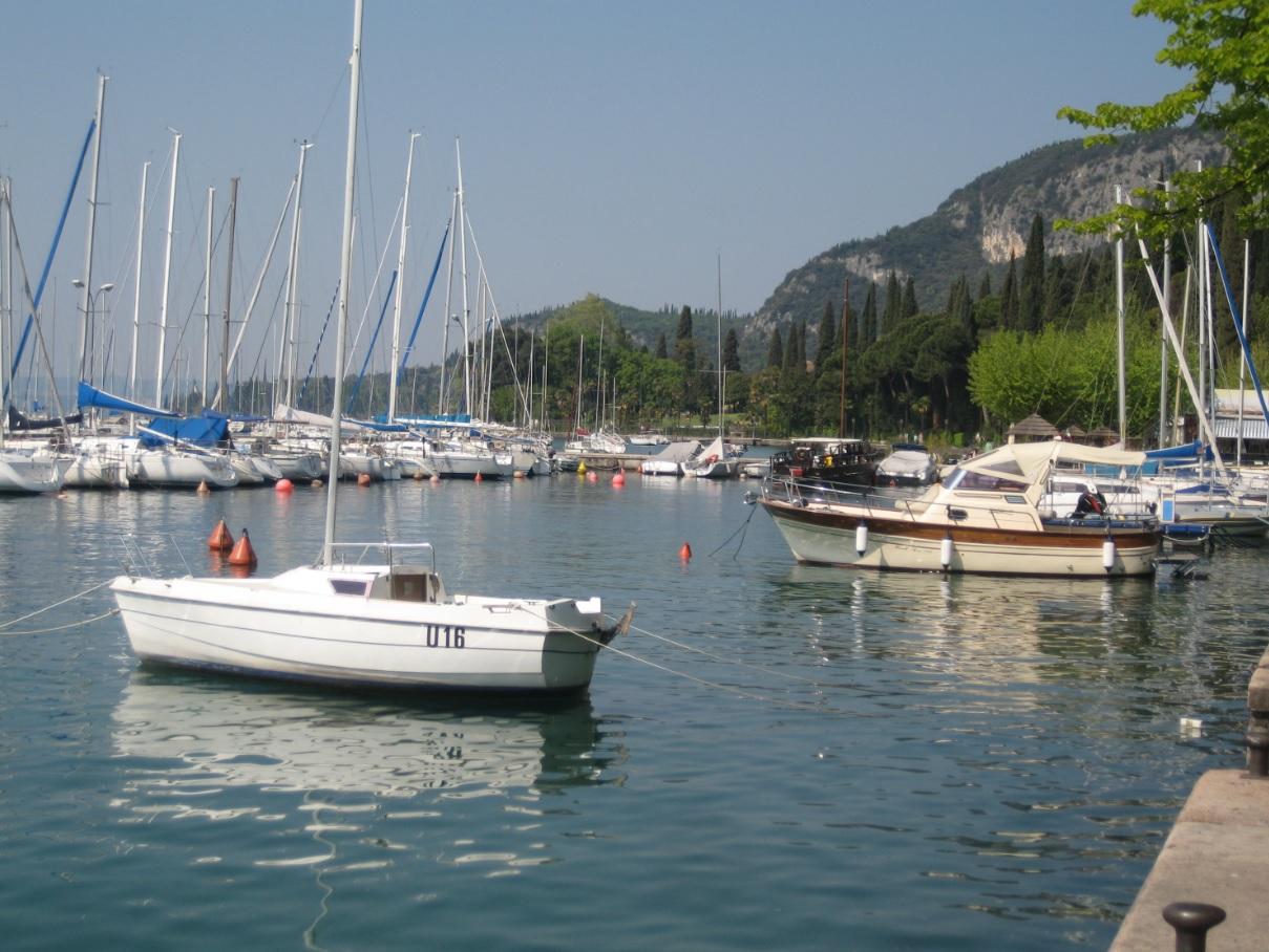 Segelhafen am Gardasee