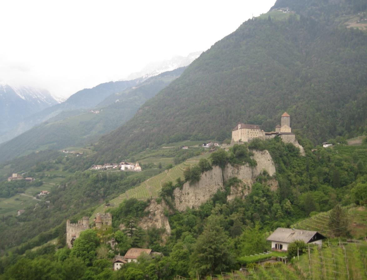 Berge für Biker in Norditalien
