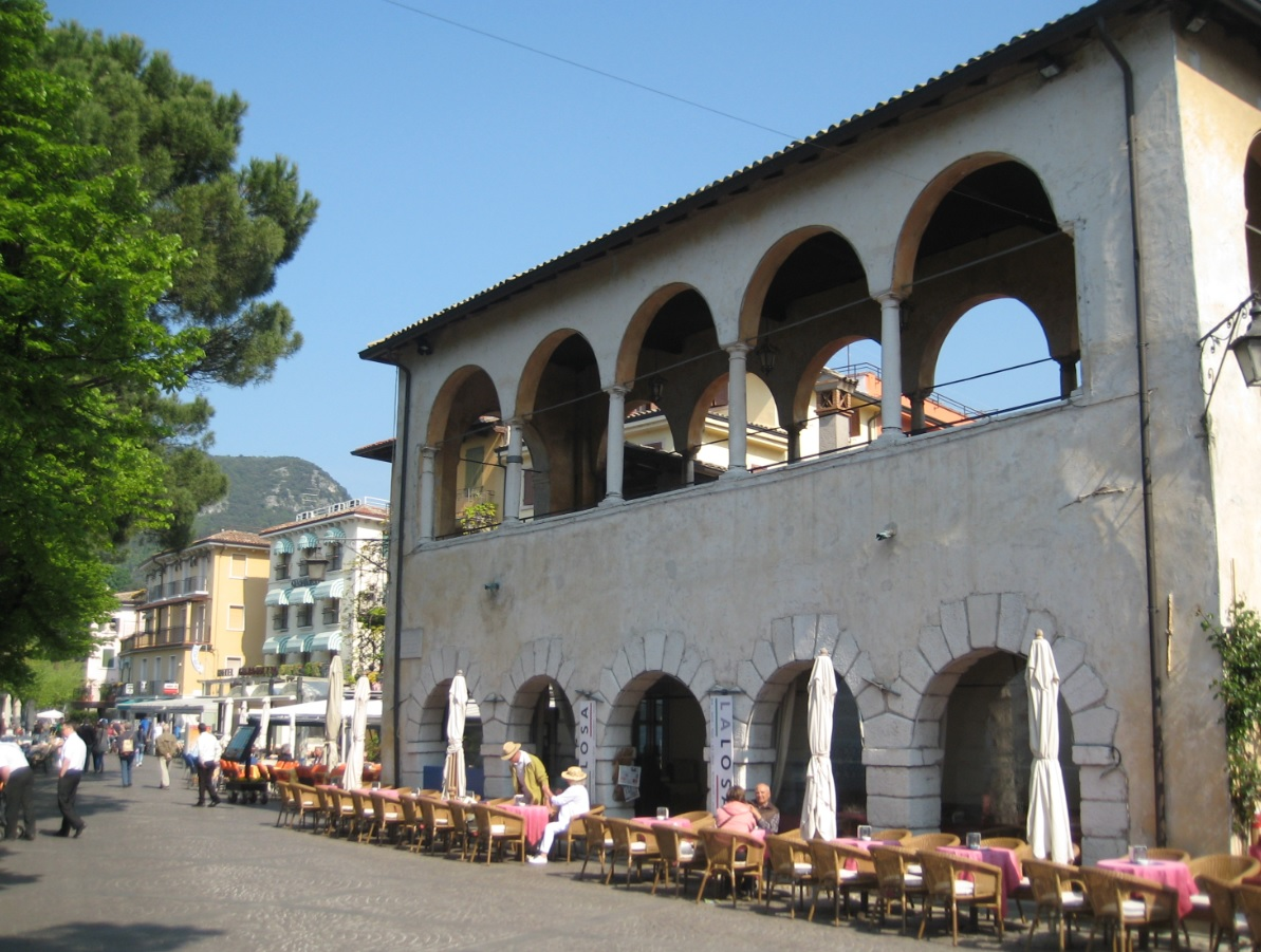 Trattoria in Garda