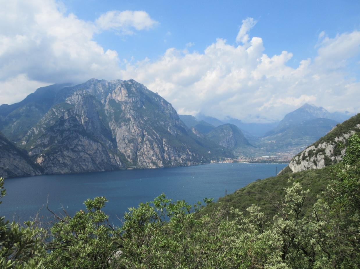 Gardasee Natur und Berge 2016