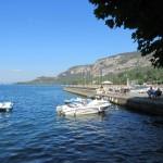 Hafen am Gardasee in Garda