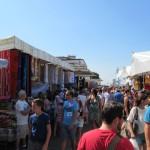 Gardasee Lazise - der Wochenmarkt