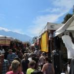 Shopping auf dem Gardasee Wochenmarkt