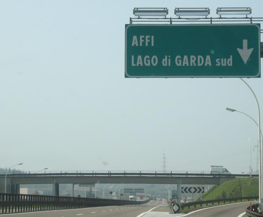 Autobahn Affi am Gardasee