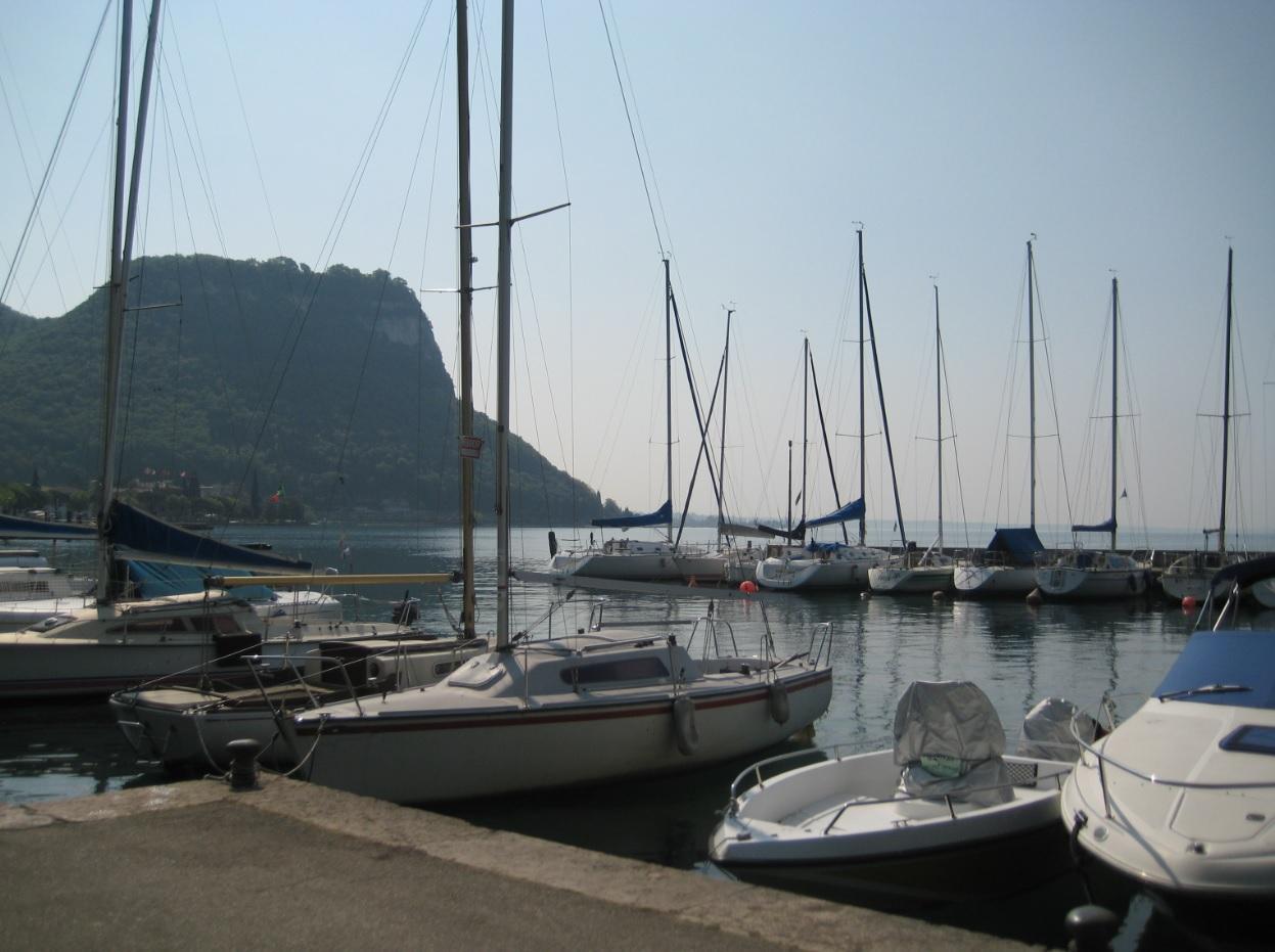 Bucht bei Garda