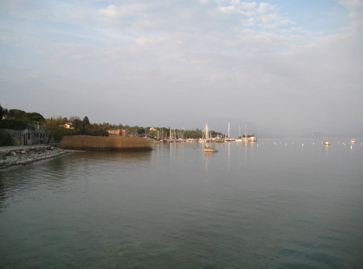 Hafen in Moniga del Garda