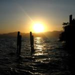 Sonneuntergang am Lago di Garda