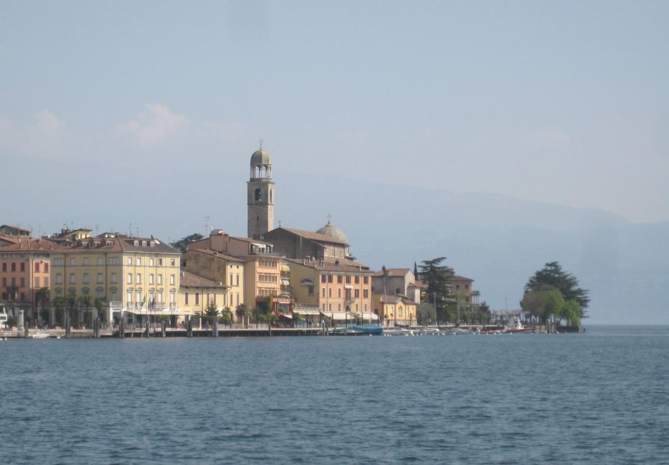 Stadtbild von Salo am Gardasee
