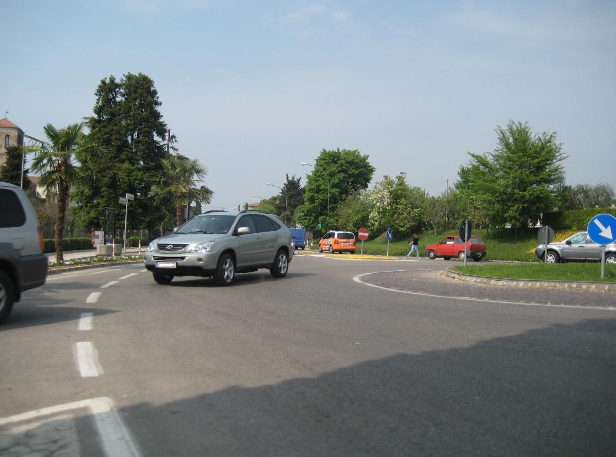 Verkehr am Gardasee