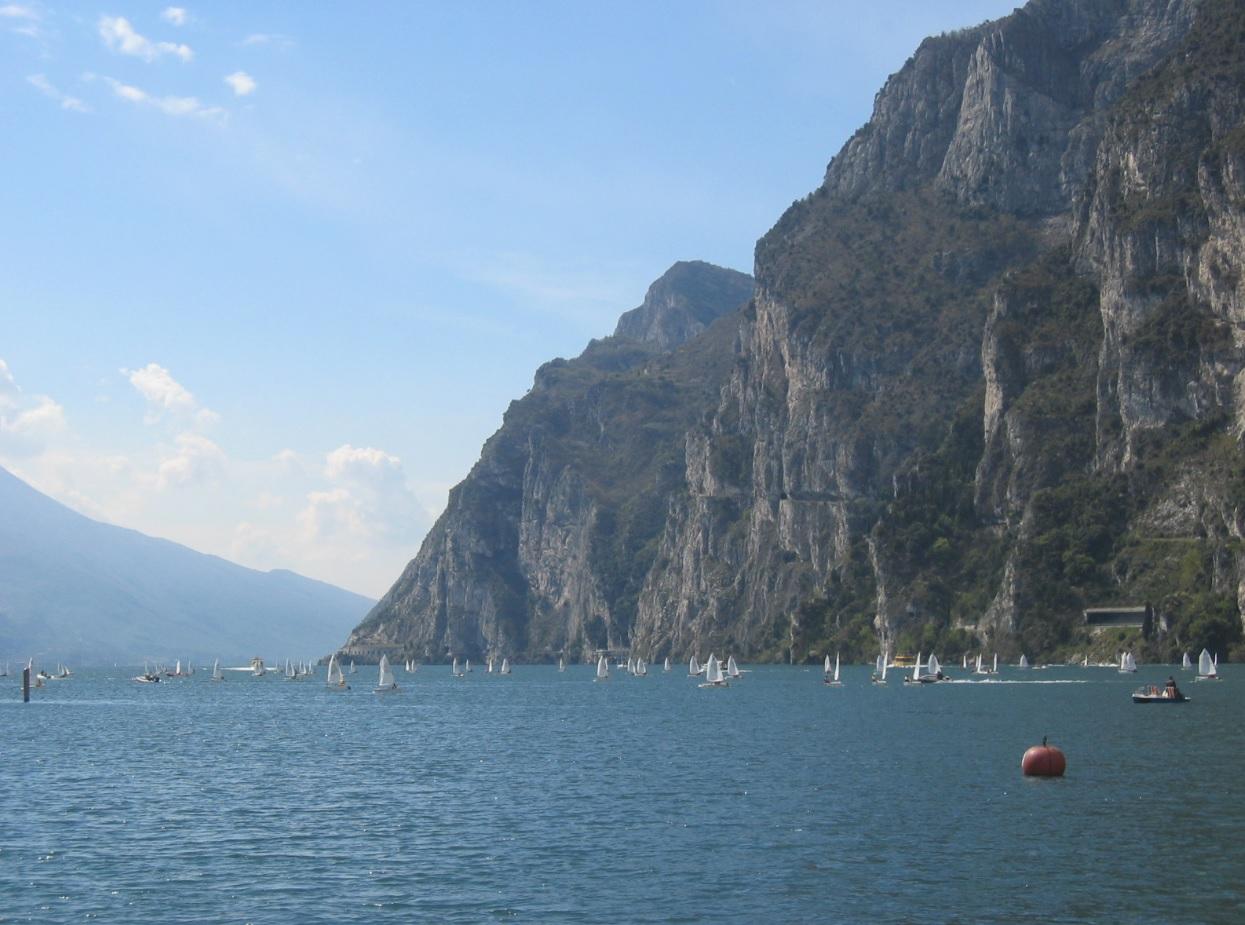 Berge bei Riva del Garda