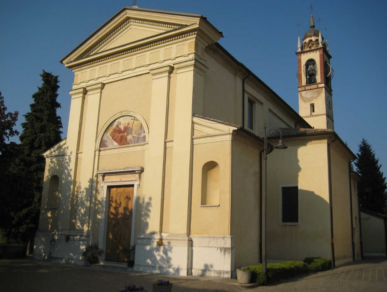Kirche bei Costermano auf der Wanderroute