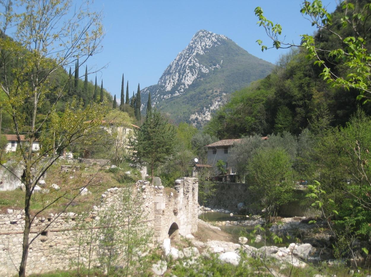 Papiermühlen Toscolano Maderno am Gardasee