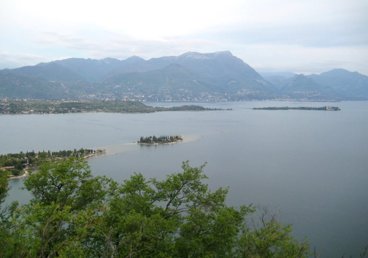 Rocca di Manerba am Lago di Garda