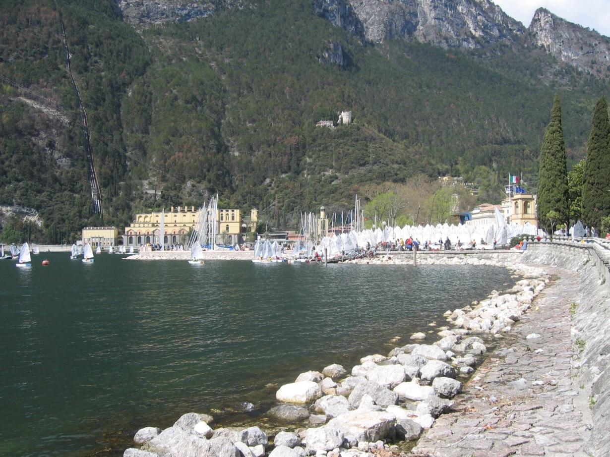 Strand bei Riva del Garda