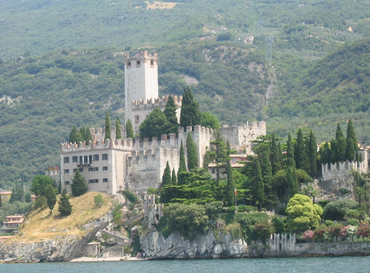Burg Malcesine am Gardasee