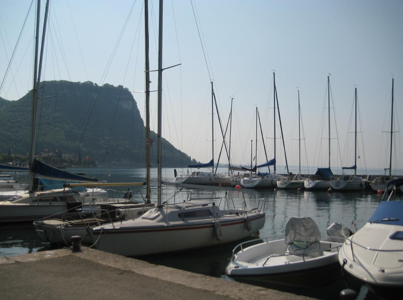 La Rocca di Garda und Hafen von Garda