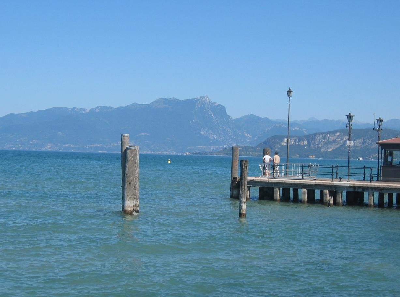 Hafen am Gardasee bei Bardolino
