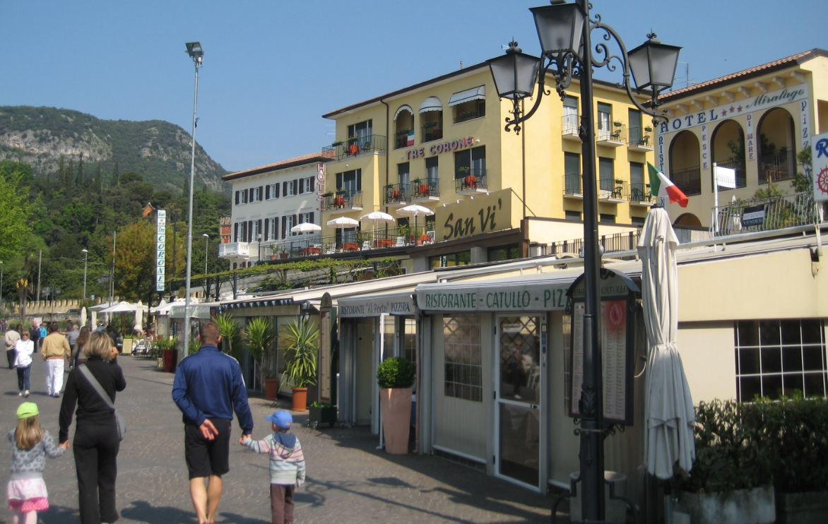 Pizzerien in Garda am Ostufer