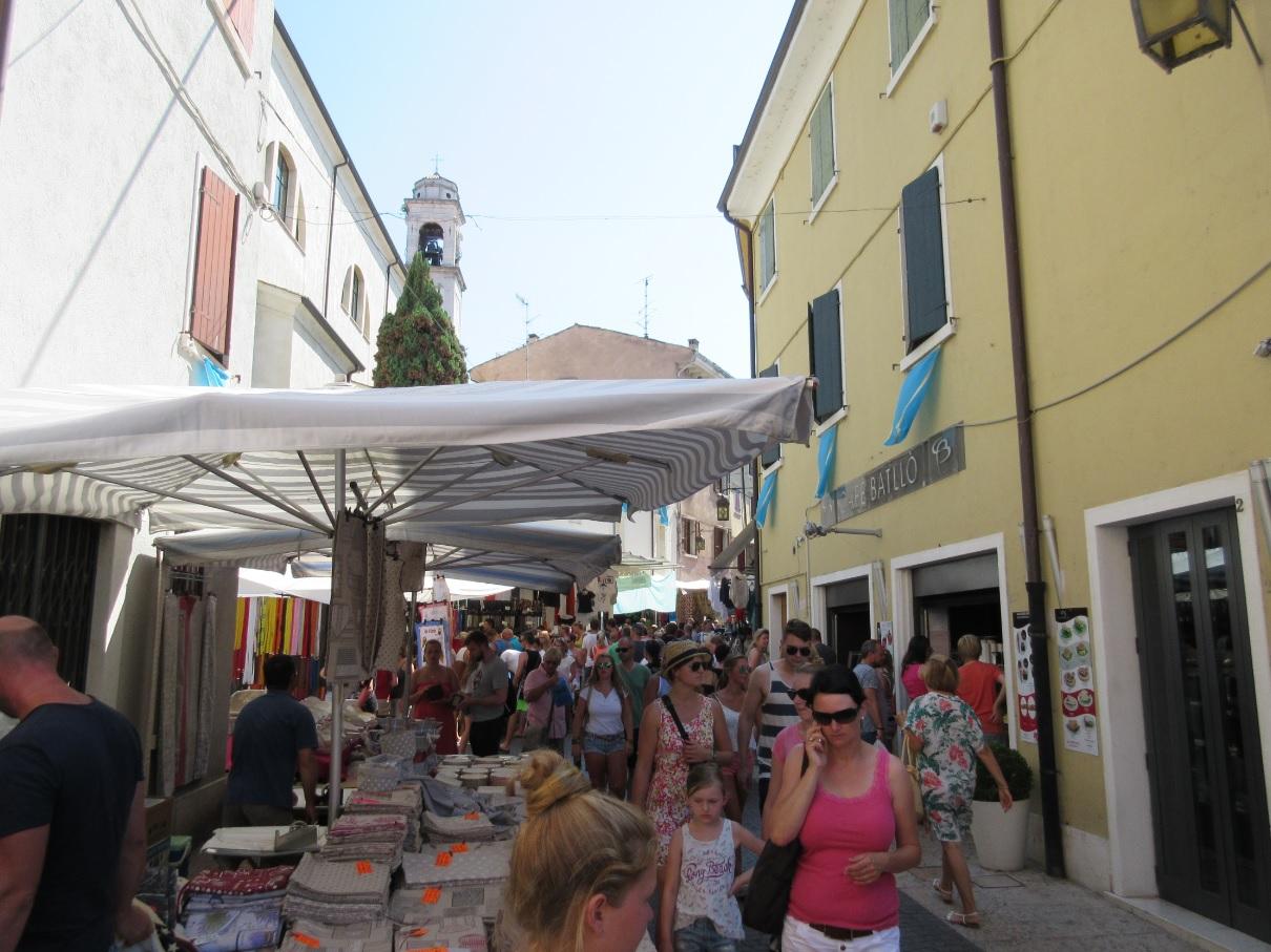 Wochenmarkt am Gardasee