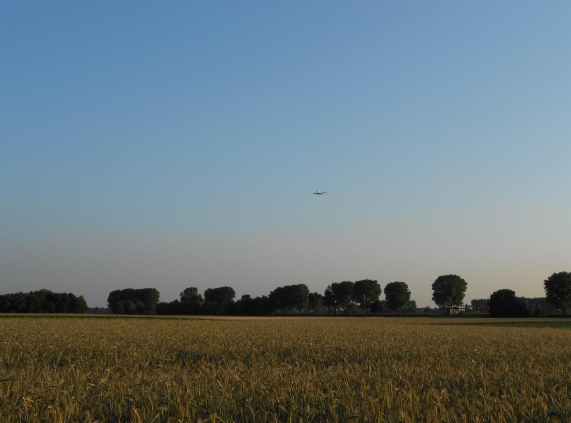 Mit dem Flugzeug zum Gardasee