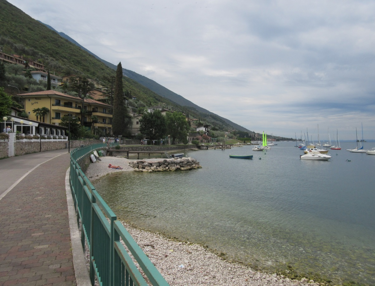 Malcesine am Gardsee in Italien