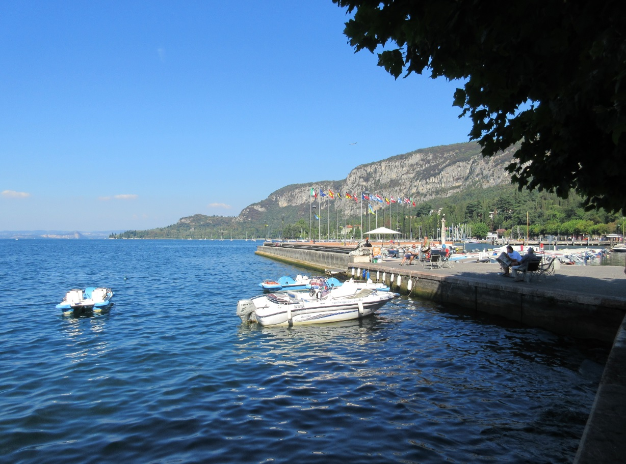 Sommer am Lago di Garda in Italia